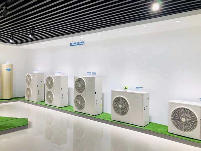 SPRSUN New Heat Pump Showroom