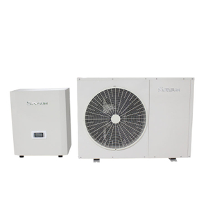 9.6KW EVI DC Inverter Split Air Source Heat Pump Water Heater House Heating Cooling Pump