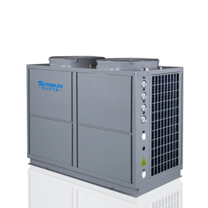 37KW 45KW Commercial Air Source Heat Pump for Water Heater and Room Heating