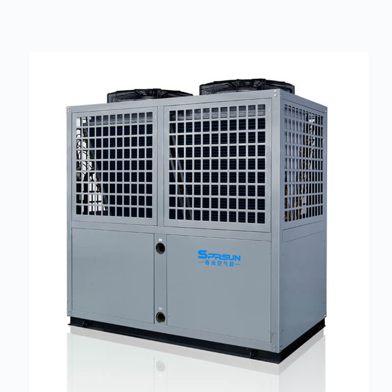 42-70KW Commercial Air to Water Heat Pump Space Heating & Cooling System