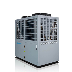 42KW 55KW 80℃ Industrial EVI High Temperature Air Source Heat Pump Water Heater