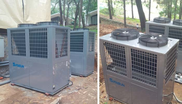 SPRSUN Air Source Heat Pump Project in Vietnam